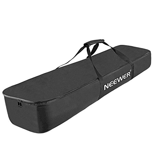 Neewer 43x28x5.5 inches/110x28x14 Centimeters Durable Speaker and Mic Stand Carrying Bag/Case (Black)