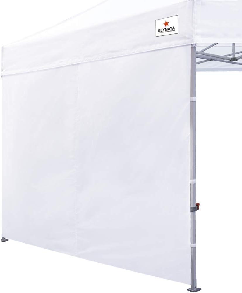 Keymaya Instant Canopy SunWall for 1 year warranty Feet 10x10 10x20 Popular standard Straig