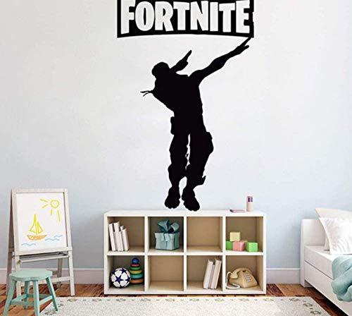 Wandaufkleber Gamer Wandtattoo Eat Sleep Game Controller Videospiel Wandtattoos Für Kinder Schlafzimmer Vinyl Wandkunst Aufkleber 57X92Cm