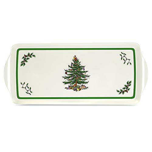 Spode Christmas Tree Sandwich Tray -15.0' x 6.5'