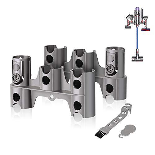 AIEVE Zubehör Halter Halterung Organizer Dockingstation und Werkzeug für Dyson V11 V10 V8 V7 kabelloser Handstaubsauger Ersatzteile (2 Stück, ohne Bohren)