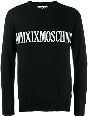 Luxury Fashion | Moschino Heren J091552004555 Zwart Wol Truien | Herfst-winter 19