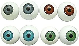 BESTOYARD Halloween Eyeballs Plastic Eyeballs Halloween Horror Props Costume For Party Favors 8 PCS