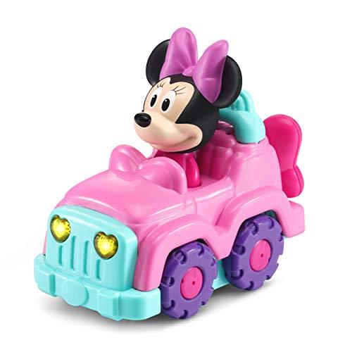 VTech - Tut Tut Bólido Disney Todoterreno de Minnie, Multicolor (TTB Coche todo terreno de Minnie .)