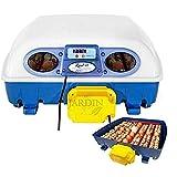 Suinga - Macchina per uova automatica 49 uova galline o 196 Perdiz, sistema di rotazione automatica a 45°