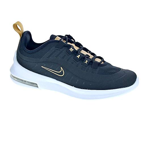 Nike Air MAX Axis Vtb (GS), Zapatillas de Running para Asfalto Niñas, Multicolor (Black/Black/White/Metallic Gold 001), 37.5 EU