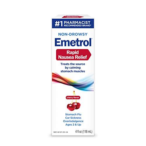 Emetrol Nausea Multivitamin, Cherry, 4 Fluid Ounce (Pack of 6) -  365197201044
