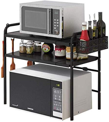 Sterke keukenrekken voor de magnetron, oven, kruidenrek, keukenkast, uittrekbaar, verticaal
