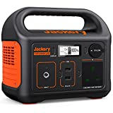 Jackery Portable Power Station Explorer 240, 230V/200W Pure Sine Wave AC Outlet, 240Wh Backup Lithium Battery, Solar Generator for Outdoors Picnic Fishing Travel Party Camping