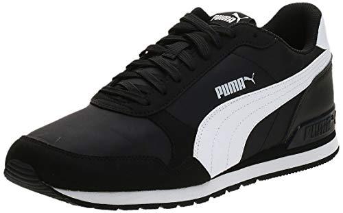 PUMA ST Runner v2 NL, Zapatillas Unisex Adulto, Black White, 44 EU