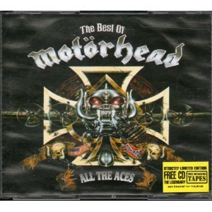 CD Album ( 15 Titel, incl. motörhead ace of spades , killed by death,over the top , iron first, louie louie , orgasmatron, the road crew , deaf forever, love me like a reptile etc. )