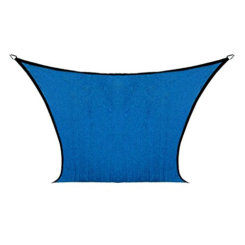 Coolaroo Coolhaven 12ft. x 12ft. Rectangle Shade Sail Color: Sapphire