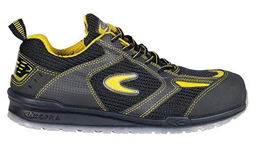 Cofra 78480-000.W46 O1 SRC FO Bartali - Zapatos de Seguridad, Talla 46, Color Amarillo y Negro