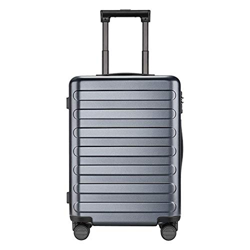 SFBBBO luggage suitcase Set Carry On Luggage Spinner Lightweight Hardshell Suitcase with Lock for Travel Business Black 20inch TitaniumGrey