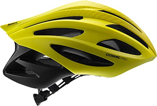 MAVIC Cosmic Pro Rennrad Fahrrad Helm gelb 2019: Größe: M (54-59cm)