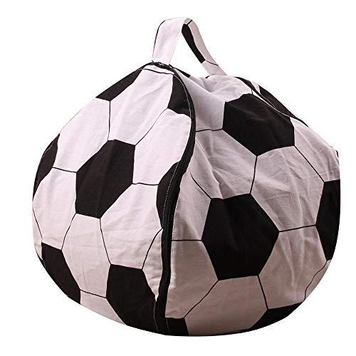 NL Beanbag Sitzstuhl, große Kinder-Stofftier Lagerung Bean Bag Stuhl Spielzeug Kleidung Organizer Segeltuch-Bohnen-Beutel-Abdeckung for Kinder Schlafzimmer (Color : 10, Size : 18 inch)