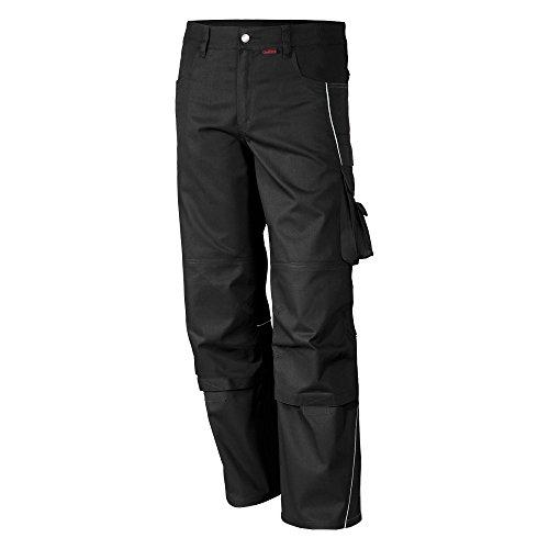 Qualitex PRO Bund-Hose Arbeits-Hose MG 245 - schwarz - Größe: 50