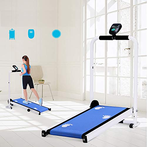 CSFM Fitness Tapis Roulant, per Uso Domestico Tapis Roulant Meccanico Mini Folding Running Training Fitness Tapis Roulant Home