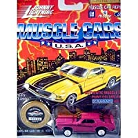 Johnny Lightning 1969 Mercury Cougar Eliminator (Moulin Rouge) Muscle Cars USA Series 10 Limited Edition 1994 Playing Mantis 1:64 Scale Die Cast Vehicle 商品カテゴリー: ダイキャスト [並行輸入品]