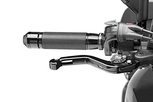 Puig 180NP1302 Brems-Kupplungshebel MT-03 (RH07) 2015- kurz - schwarz Set