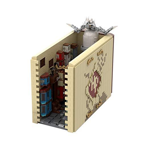 WDLY 2986 PCS Bloque De Construcción Clásico Creativo Diagonal Alley Book, Puzzle Tocan Technic Super Racing RC Coche Kit, Modelo De Bloques De Construcción Compatible con Lego, Ladrillos De Juguete