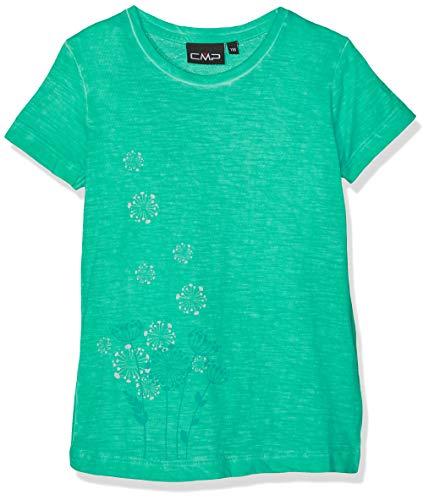 CMP Mädchen T-Shirt 39T7515, Aquamint, 116