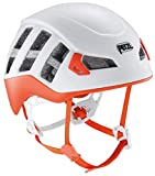 PETZL Meteor Casco, Unisex-Adultos, Rojo y Naranja, Small/Medium