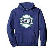Featuring a cool Seattle baseball seams design, this makes a great Christmas, birthday or anniversary present for fans who love the city, baseball and home runs. Rep your town in the best Seattle is home graphic! Vintage Seattle baseball stars graphi...