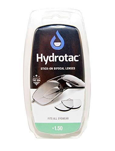Leselinsen Hydrotac/Geeigneit für Sonnenbrillen und Spobrillen LH, Gläserstärke:+ 1.5