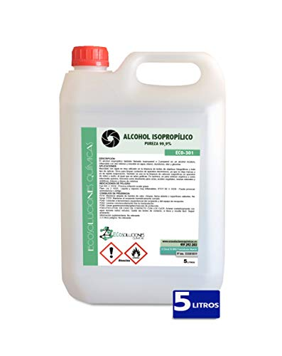 Ecosoluciones Químicas ECO-301 | 5 litros | Alcohol Isoprop