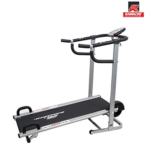 Kamachi Manual Treadmill 2-in-1 with Push up Bar