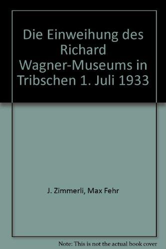Die Einweihung des Richard Wagner-Museums in Tribschen 1. Juli 1933
