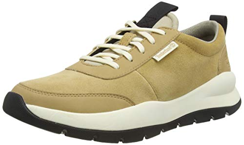 Timberland Herren Boroughs Project Leather Oxford Gymnastikschuhe, Beige (Iced Coffee) Tb0a24rbk381), 47.5 EU