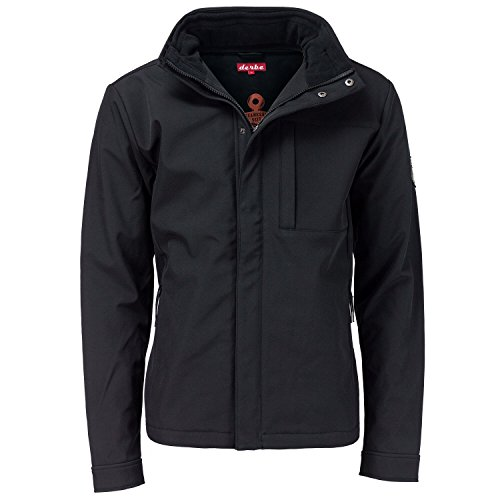 Herren Jacke Derbe Seaforth Jacke, black/black, L