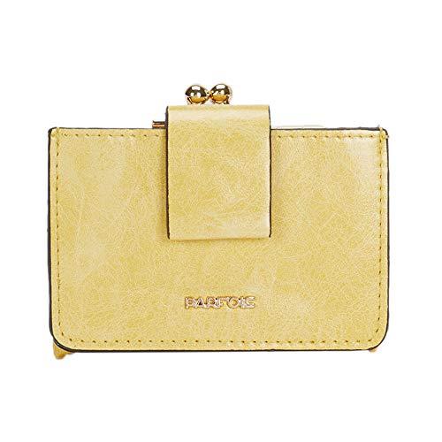 Parfois - Geldborsen Geldbörse Tiere Gelb - Damen - Größe M - Gelb