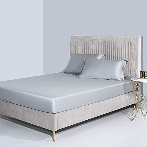 haiba Protector de colchón impermeable, ajustable, transpirable, a prueba de manchas, hipoalergénico y no ruidoso, fácil ajuste, tamaño king 150 x 200 cm