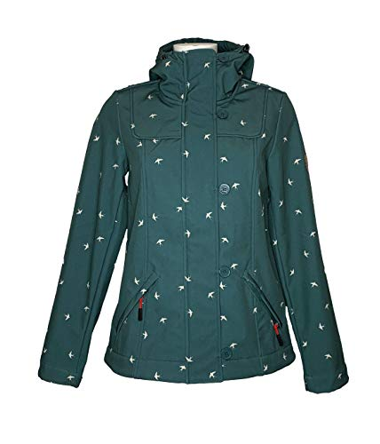 Blutsgeschwister wild Weather Petite Anorak Fly to The Sky,Softshell (L)