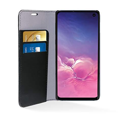 Phonix SS10BCB beschermhoes van kunstleer voor Samsung Galaxy S10 zwart