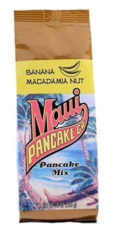 Pack of 6 Maui Pancake Product Co. Finally popular brand Banana Mix 10 Nut Macadamia