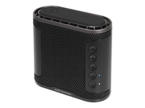 オーディオテクニカ Bluetoothワイヤレススピーカー(ブラック)audio-technica SOLID BASS AT-SBS50BT-BK