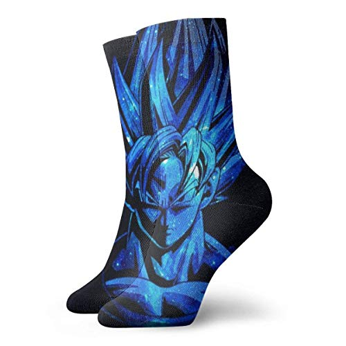 NHUXAYH Calcetines deportivos, calcetines Dragon Ball Z Crew Calcetines al aire libre para...