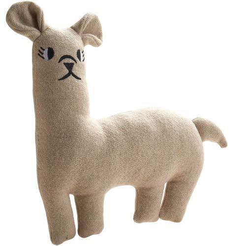 HUNTER Tirana Hundespielzeug mit Wolle/Polyester-Materialmix Farbe Lama, Größe 25 cm