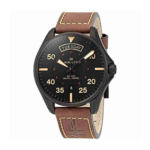 [ハミルトン]HAMILTON 腕時計 Khaki Pilot Day Date Auto(カーキ パイロット デイデイト オート) H64605531 メンズ 【正規輸入品】
