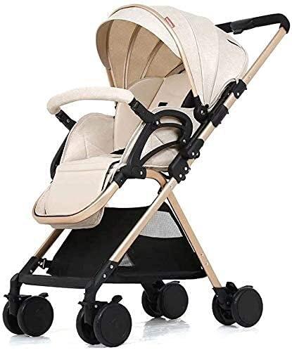 Cochecito de bebé Peso liviano recién nacido Carro de carruaje Travel Cochecito para el recién nacido Niño pequeño cochecito compacto bebé liviano sentado reclinado paraguas coche alto paisaje plegabl