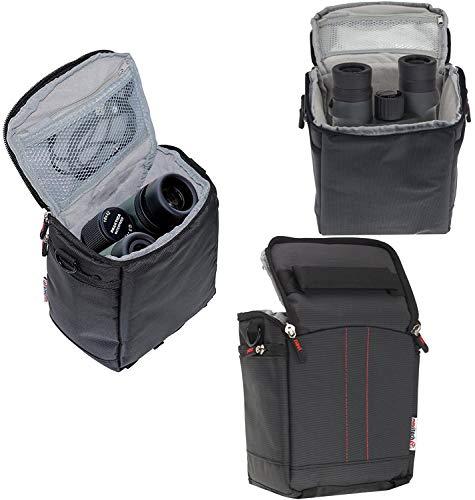 Navitech Schwarz Fernglas Tasche - Kompatibel mit dem Olympus Fernglas 10 x 50 DPS-1