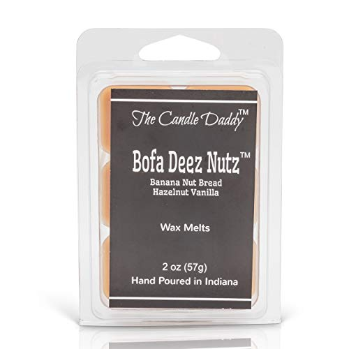 The Candle Daddy Bofa Deez Nutz Banana Nut Bread Maximum Scented Wax...