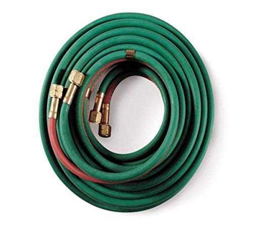 Hobart 770133 Oxy/Acet,Hose, Grade R, Twin Welding 1/4-Inch by 50-Feet,Red