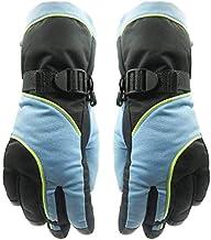 MU Wodoszczelne rękawice termiczne, wodoszczelne i odporne na śnieg, do jazdy na nartach, snowboardzie, szufelki, nylonowa...