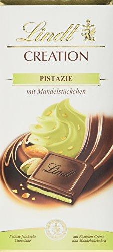 Lindt Creation Pistazie mit Mandelstückchen in feinherber Schokolade, 7er Pack (7 x 148 g)
