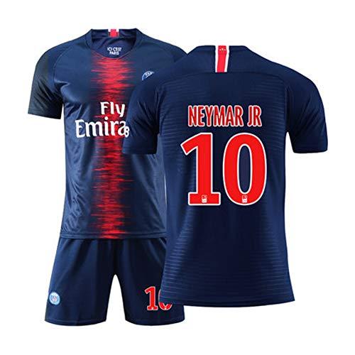 # 10 Lionel Messi voetbalshirt, professioneel Barcelona voetbalshirt, uniform voetbalshirt voor dames en heren, met shorts